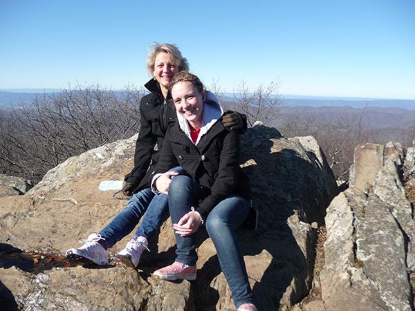 hiking in Virginia